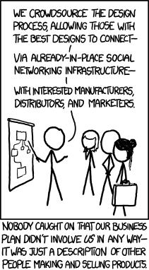 Crowdsourcing Comic - XKCD