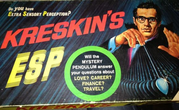 Kreskin's ESP board game